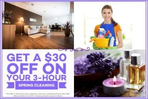 keen maids spring cleaning march